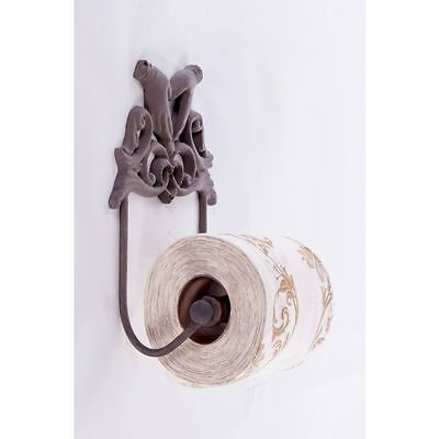 """Rustic Brown """"Marshall Hall"""" Palm Hands Soap Dish"""