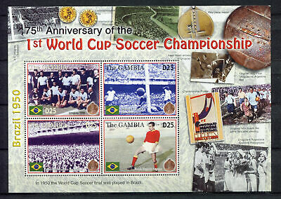s8424) GAMBIA 2005 MNH** 75th Ann. of the 1st WC Football S/S