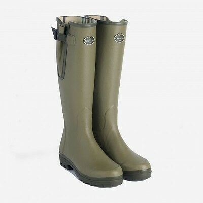 Le Chameau Stunning Wellington Boots Shooting Walking Fishing - Vierzon Style
