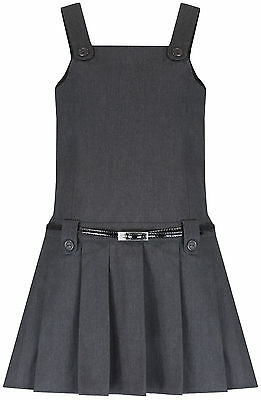 M&S/ BHS/ Matalan Pleated Bib Belted Pinafore School Uniform Dress Age 2-12