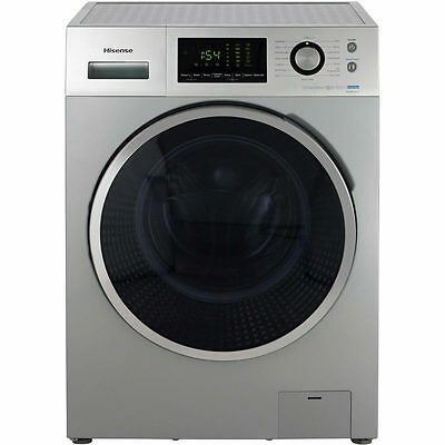 Hisense WFP8014VS P Series A+++ 8Kg 1400 Spin Washing Machine Silver New from