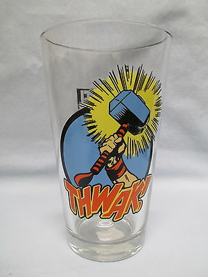The Mighty Thor (Avengers) Hammer  ~  New Drinking Glass by ICUP