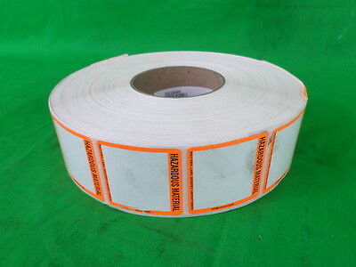 Roll of 2700 ITECH Automation 2455239-23 Hazardous Material Label