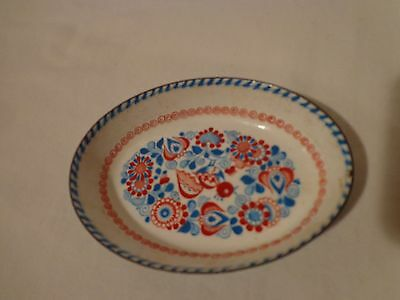 Vintage Steinbock Email Enamel Pin Dish / Made in Austria