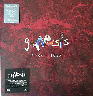 Genesis 1983 -1998 Box Set Vinyl LP - Virgin 00602537850181