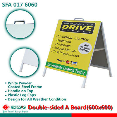 Double Sided A Frame/ A Board/sign board/ sandwitch board (600x600)