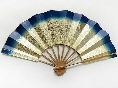 Vintage Japanese Geisha Odori 'Maiogi' Folding Dance Fan from Kyoto: Design J38
