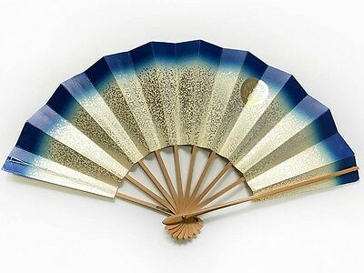 Vintage Japanese Geisha Odori 'Maiogi' Folding Dance Fan from Kyoto: Design J41