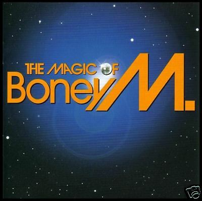 BONEY M - MAGIC OF ~ 20 Track GREATEST HITS / BEST OF CD ~ 70's POP/DISCO *NEW*