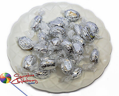 TOFFEES  -  COCONUT CARAMEL in silver wrappers  -1KG  - Candies, Toffee