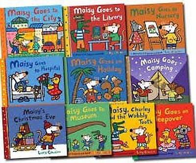 Maisy Mouse 10 Book Collection Set By Lucy Cousins