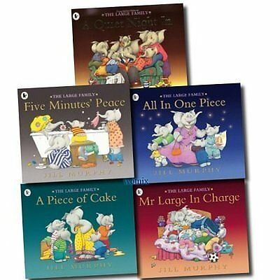 The Large Family Collection 5 Book Set By Jill Murphy