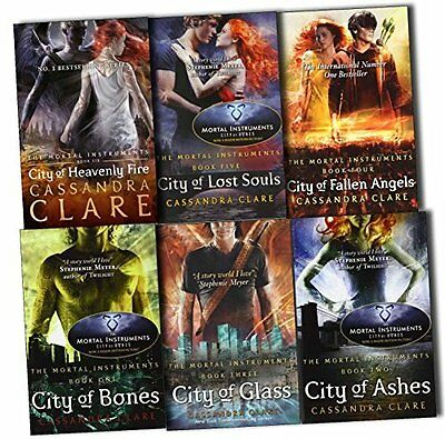Cassandra Clare 6 Book Set of the Mortal Instruments Collection