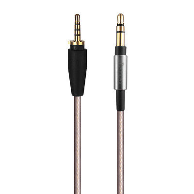 Replacement Upgrade Sliver Audio Cable For Sennheiser Urbanite XL Over Ear