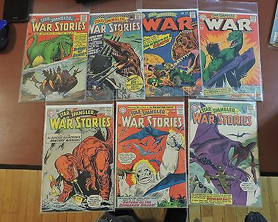 Star Spangled War Stories #110 111 113 122 127 136 137 Dinosaurs Suicide Squad