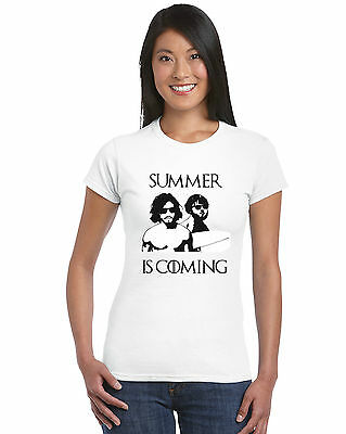 Game Of Thrones Inspired Summer Is Coming Unisex T-Shirt Parody Ladies/Mens