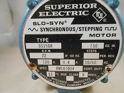 SS150B Superior Stepping Motor NEW IN BOX OLD STOCK