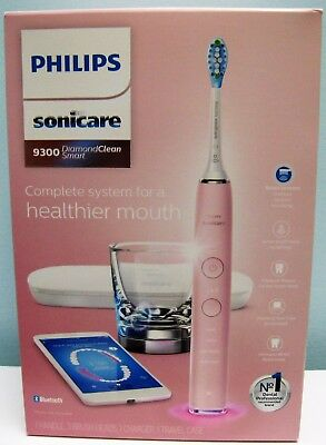 Sonicare Diamond Clean Pink Edition Hx9362/68 Rechargeable Toothbrush, New