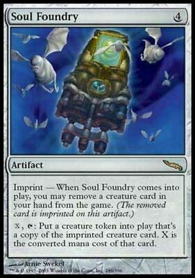 Soul Foundry ~ Mirrodin ~ Excellent+ ~ Magic The Gathering