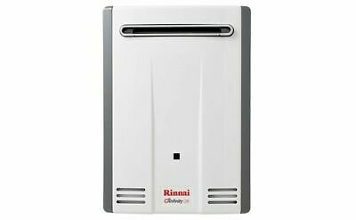Rinnai Infinity 26 Continuous Flow Hot Water System, 60C Natural Gas