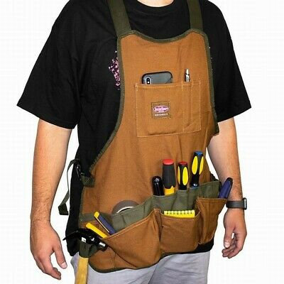 Bucket Boss Duckwear Superbib 18 Pocket Shop Apron 20267