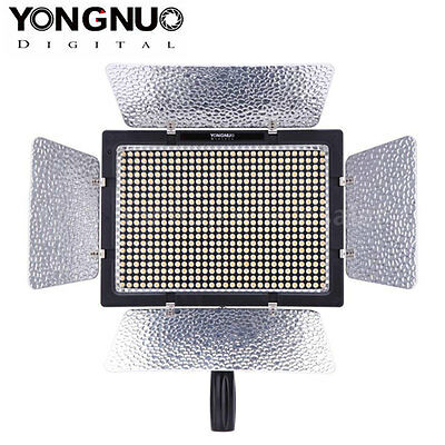 Yongnuo YN-600 600 LED Studio Video Light 3200k-5500k for Nikon Camcorder