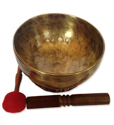 Antique Finishing Color 24Cm Tibetan High quality Singing Bowl