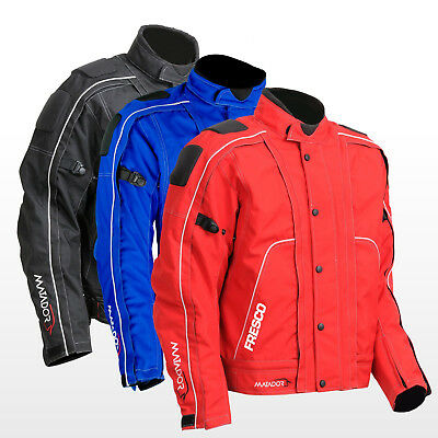 """""""Fresco"""" - Men's Motorcycle Jacket (removable shell converts to summer mesh)"""