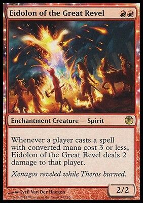 APPARIZIONE DEL GRAN BACCANALE - EIDOLON OF THE GREAT REVEL Magic JOU Mint