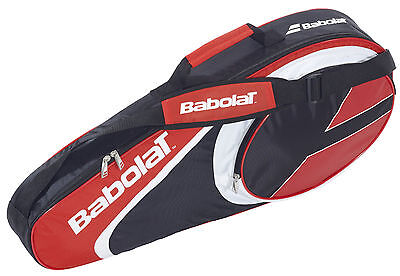 Nuovo Babolat Racket Holder x3 Club portaracchette 1 scomparto