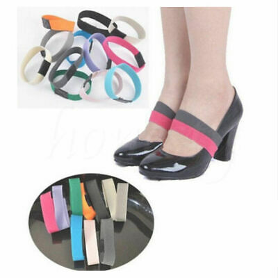 Elastic Shoe Strap Lace Band for holding loose high heeled shoe