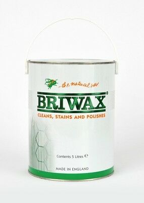 Briwax/ Wax/ Woodwork/ Stain/Polish *NEXT DAY* 5ltr (CHOOSE COLOUR) 5 Litres