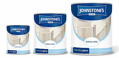JOHNSTONES NON DRIP GLOSS PAINT *ALL COLOURS* - 250ml / 750ml / 1.25L / 2.5L