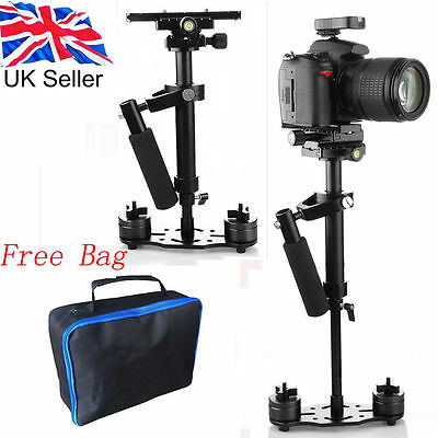 Pro S-40 40CM Handheld Stabilizer for Steadicam Video Canon Camera DSLR DV Bag