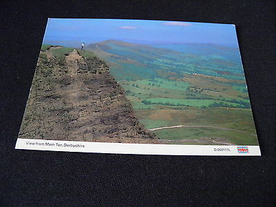 Derbyshire Postcard View From Mam Tor Derbyshire