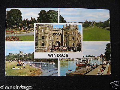 Berkshire Postcard Windsor Multiview 105