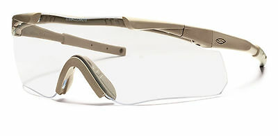 Smith Optics Aegis Arc Tan Deluxe Kit - 3 Lens - Clear, Grey and Yellow