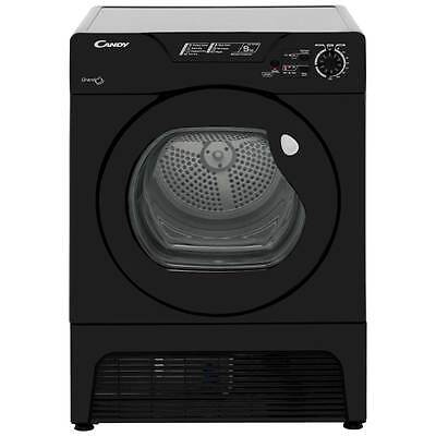 Candy GCC591NBB Grand'O 9Kg Condenser Tumble Dryer Black New from AO
