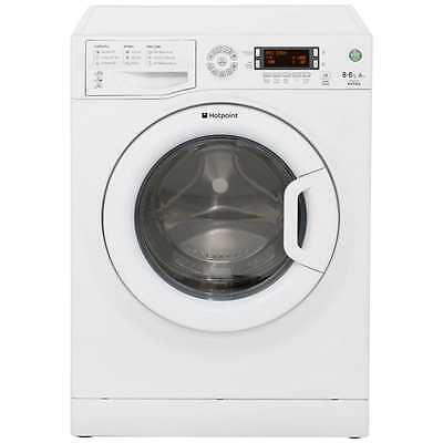 Hotpoint WDXD8640P Aquarius Free Standing 8Kg 1400 Spin Washer Dryer White New