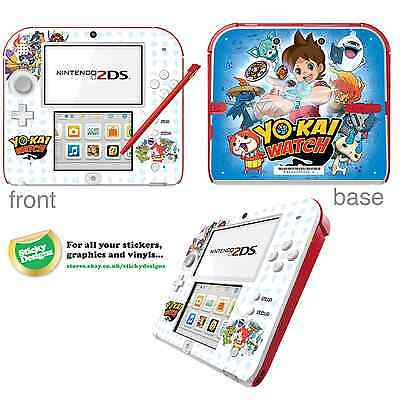 Yo-Kai Watch Vinyl Skin Sticker for Nintendo 2DS