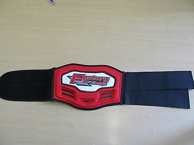 Kids Motorcross /mx / Quad / Kidney Belt 22Inches To 30 Inches