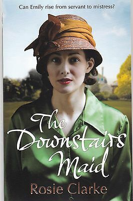 The Downstairs Maid by Rosie Clarke (Paperback) New Book
