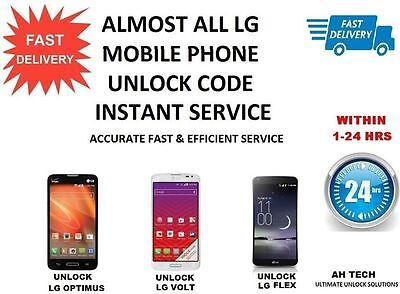 Lg G5 G4 G3 Any NETWORK UNLOCK CODE
