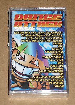 DANCE ATTACK 2002 (EIFFEL 65 feat. BATTIATO)- MUSICASSETTA MC SIGILLATA (SEALED)