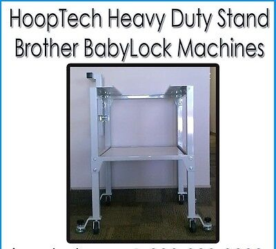 HEAVY DUTY Embroidery Stand - Brother PR Series 6 and 10 Needle Machines PRS100