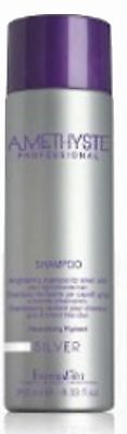 SHAMPOOING FARMAVITA Silver Améthyste cheveux blonds, blancs gris 250ml