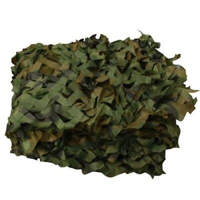 Green Woodland Camouflage Net for Camping Military Hunting - 4.5 ft x 12 ft
