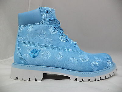 """Grade School Timberland 6"""" Classic Boots Floral-A174M"""