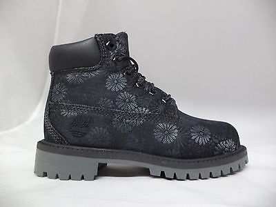 "Pre-School Timberland 6"" Classic Floral Boots-A177P"
