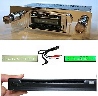 1960-1963 Ford Ranchero Radio + Single Disc CD Changer USB AUX Stereo 630 II **